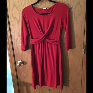 Boden Red Jersey knit. Size 10